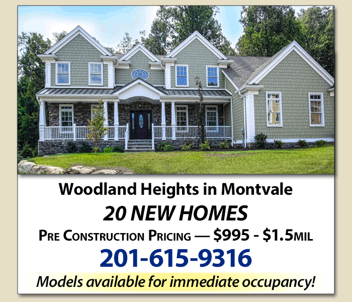Beautiful new home in Woodland Heights, Montvale, NJ