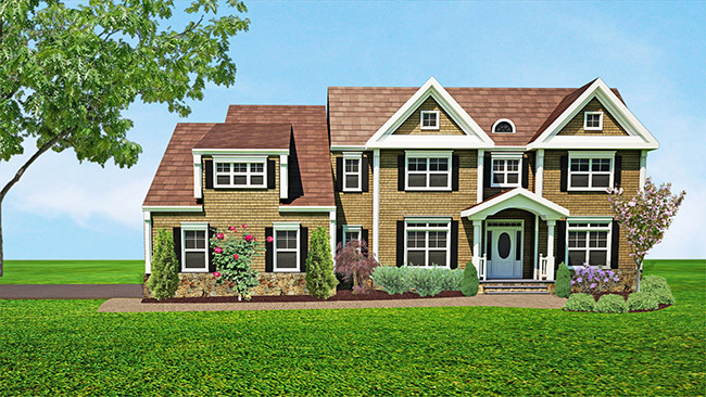 Rendering of 6 Flintlock Road, Montvale, NJ